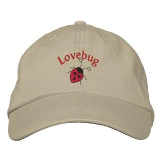 LoveBug with Ladybug Embroidered Hat