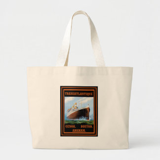 Lovecraft Cruise Lines: Arkham Tote Bags