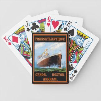 Lovecraft Cruise Lines: Arkham Poker Deck