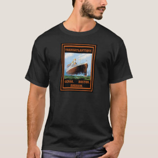Lovecraft Cruise Lines: Arkham T-Shirt