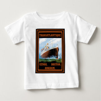 Lovecraft Cruise Lines: Arkham T-shirts