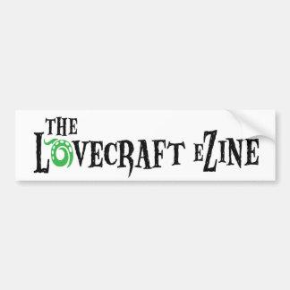 Lovecraft eZine bumper sticker