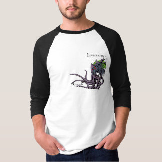 Lovecraftian Flair Shirt: Cthulhu 2 Color Ink T-Shirt