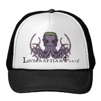 Lovecraftian Flair TruckerHat: Cthulhu 2 Color Ink Trucker Hat