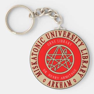 Lovecraft's Miskatonic University Library Key Ring