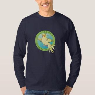 Loved by a Cockatiel Bird T-shirt