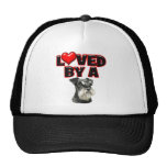 Loved by a Miniature Schnauzer Cap