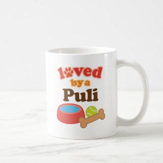 Loved By A Puli Dog Breed Coffee Mug