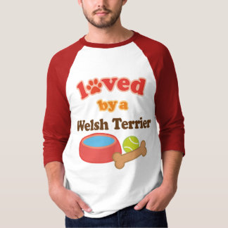 Loved By A Welsh Terrier (Dog Breed) T-Shirt