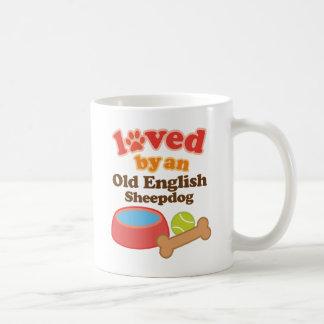 Loved By An Old English Sheepdog (Dog Breed) Coffee Mug