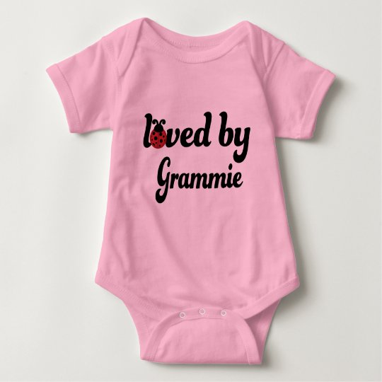 Loved By Grammie Gift Baby Bodysuit