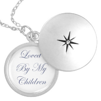 Loved By My Children Locket Necklace