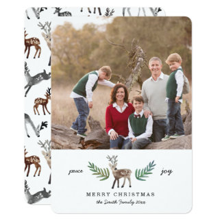 Loved Dearly 1 Photo Holiday Card