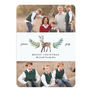 Loved Dearly 2 Photo Holiday Card