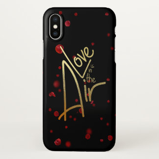 Loved is in the Air! iphone X case