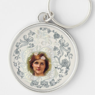 Loved One's Portrait Key Chain #2