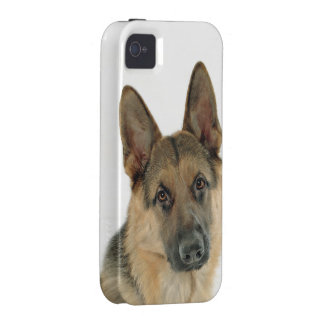 Loved & Protected by a German Shepherd iPhone 4 Covers