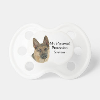 Loved & Protected by a German Shepherd Dummy