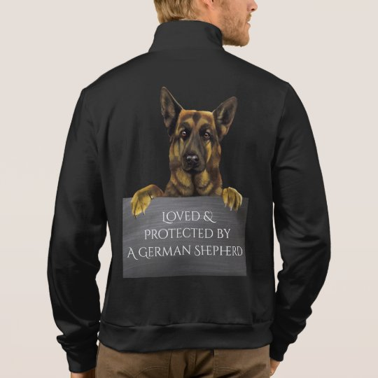 Loved & Protected by a German Shepherd &