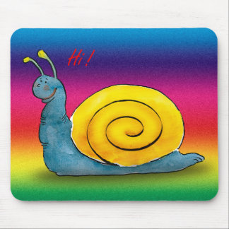 Loved snail - Mousepad