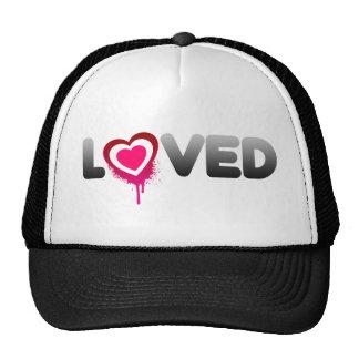 Loved Valentines Day Trucker Hat