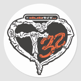 LoveDubArt T32 sticker decal