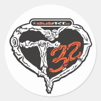LoveDubArt T32 sticker decal graphic