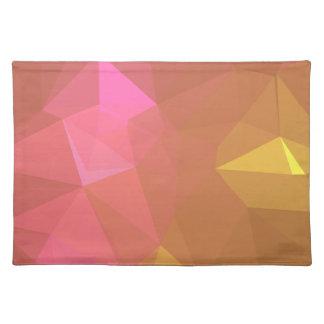 LoveGeo Abstract Geometric Design - Celestial Sun Placemat