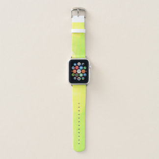 LoveGeo Abstract Geometric Design - Lemon Lime Apple Watch Band