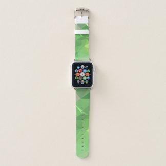 LoveGeo Abstract Geometric Design - Pickle Lemon Apple Watch Band