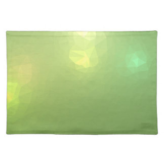 LoveGeo Abstract Geometric Design - Sail Celery Placemat