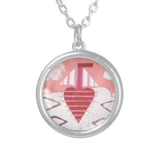 Loveheart Boat Necklace