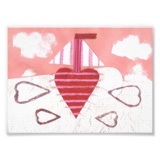 Loveheart Boat Photo