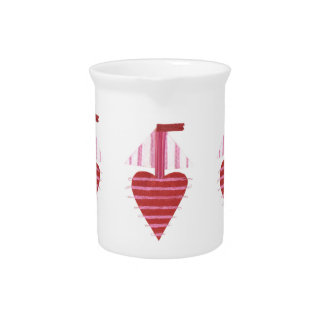 Loveheart Boat Pitcher