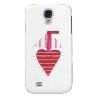 Loveheart Boat Samsung Galaxy S4 Case