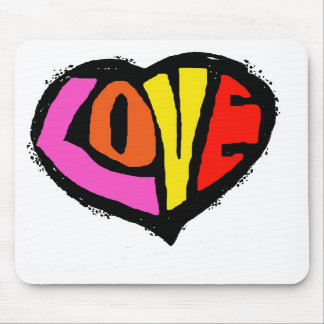 LOVEHEART mouse-pad Mouse Pad