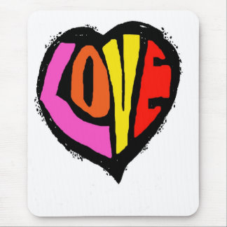 LOVEHEART (mouse-pad) Mouse Pad