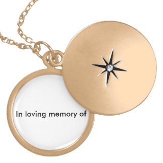 LOVEING MEMORY GOLD PLATED NECKLACE