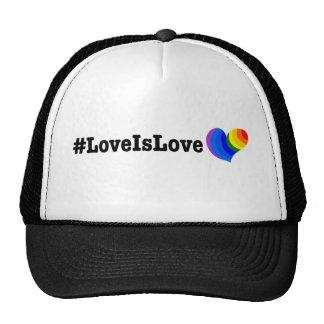 #LoveIsLove hashtag tshirt Cap