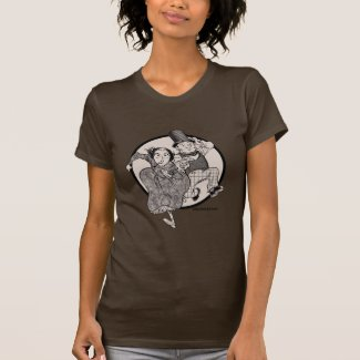 Lovelace and Babbage Leap T-shirts