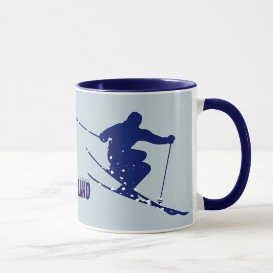 Loveland Blue Skier Mug