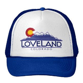 Loveland Colorado wood mountains hat