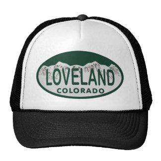 Loveland license oval cap