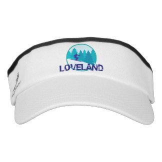 Loveland Teal Ski Circle Visor
