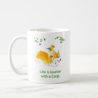 Lovelier with a Corgi Mug