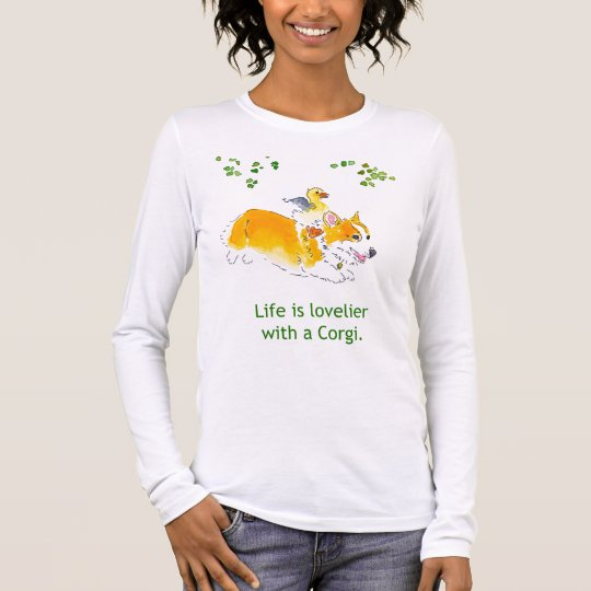 Lovelier with a Corgi Tee