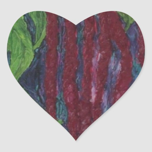 Lovelies Bleeding Painting Heart Sticker