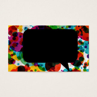 lovely and cute business card for designers