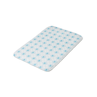 Lovely Argyle Bath Mat