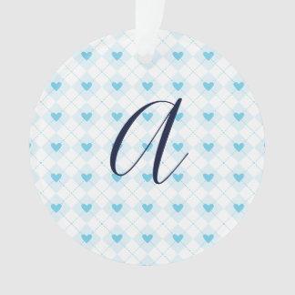 Lovely Argyle Ornament